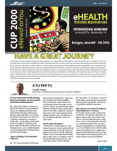CUP 2000 eNewsForYou – International eHealth Workshop  Special Issue (EN)
