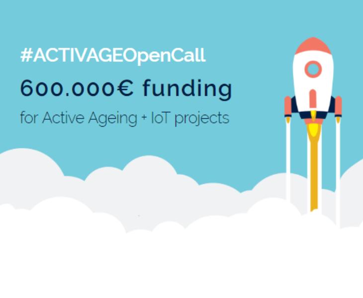 ACTIVAGE project: pubblicato il 31 luglio il primo bando Open Call