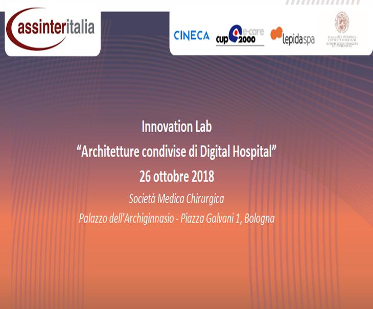 Assinter Academy a Bologna: Architetture condivise di Digital Hospital